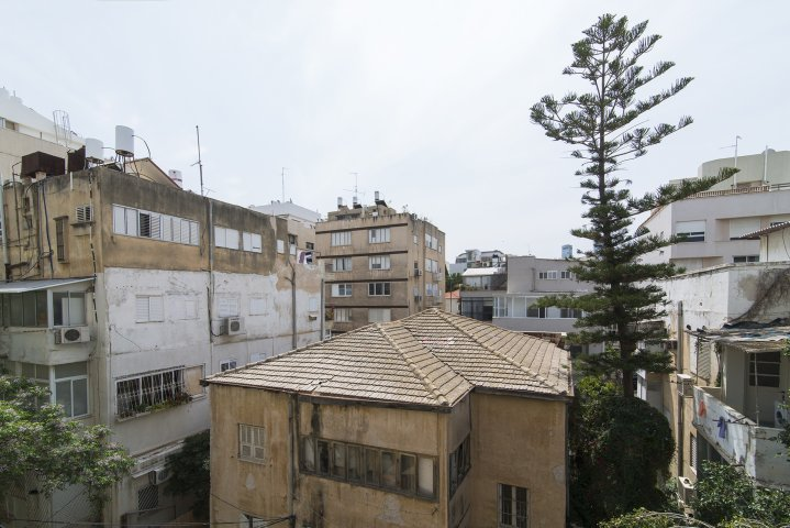 Tel Aviv Apartments - Borochov 36  Shenkin, Tel Aviv - Back window view