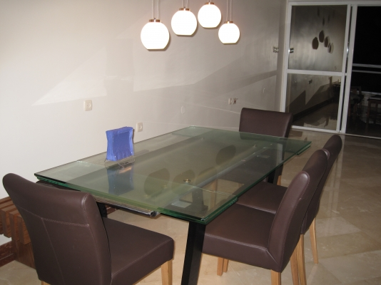 Netanya Apartments - SeaView luxury dream penth  center, Netanya - dining for 8-12