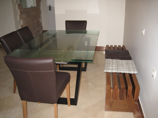 Netanya Apartments - SeaView luxury dream penth  center, Netanya - design bench