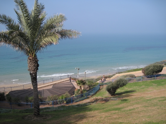 Netanya Apartments - SeaView luxury dream penth  center, Netanya - parc in front