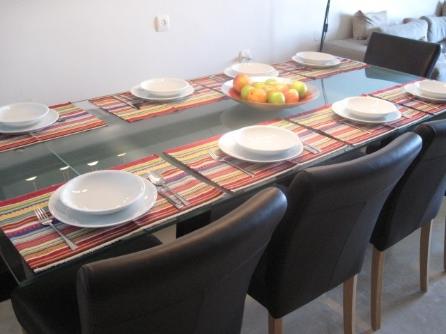 Netanya Apartments - SeaView luxury dream penth  center, Netanya - dining