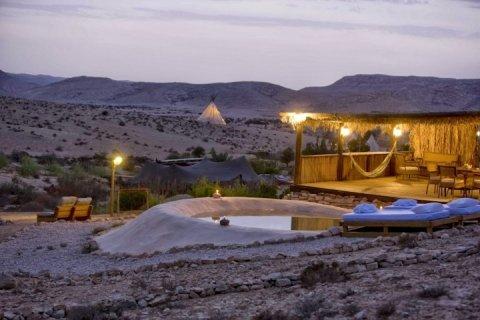 DESERT OLIVE FARM Apartments - חוות זית המדבר הבקתה האפריקאית - Main Image