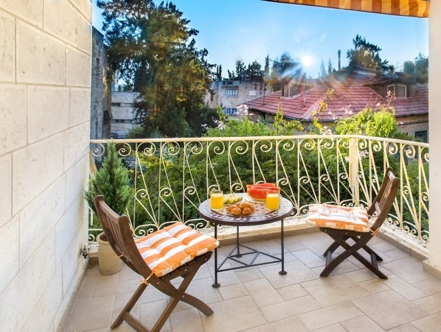 Jerusalem Apartments - BEST LOCATION 2 BDR WITH BALCONY, Jerusalem - Image 85134