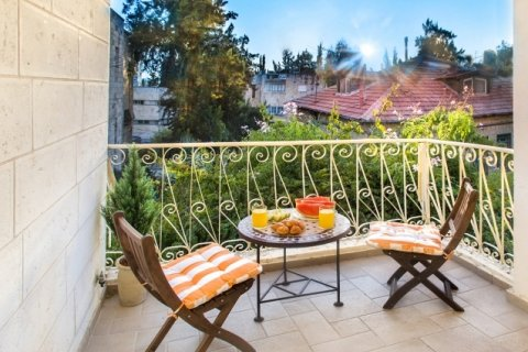 Jerusalem Apartments - BEST LOCATION 2 BDR WITH BALCONY - Main Image