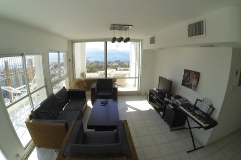 Eilat Apartments - Penthouse with a beautiful view - Living room