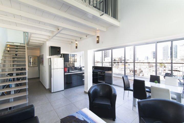 Tel Aviv-Yafo Apartments - Florentin  duplex Herzl Rotschild, Tel Aviv-Yafo - Image 129316