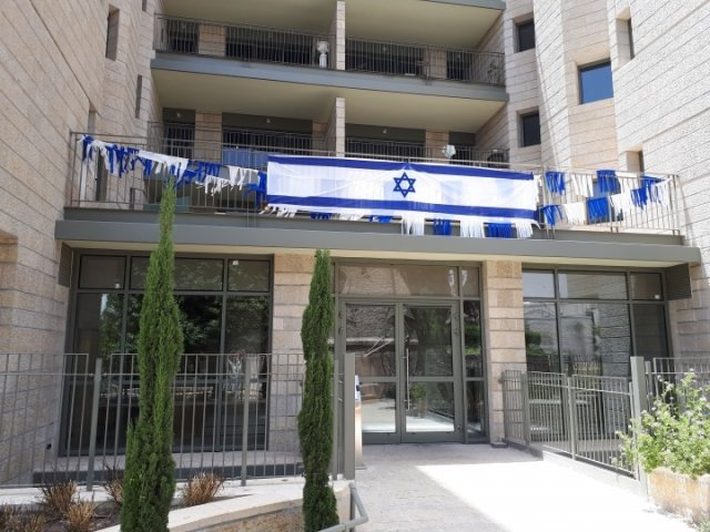 Jerusalem Apartments - Walking distance to the Old city, Jerusalem - Building entrance
