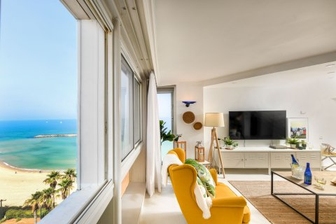 Herzliya Apartments - Decorated Beachfront Apt w SeaView - Main Image