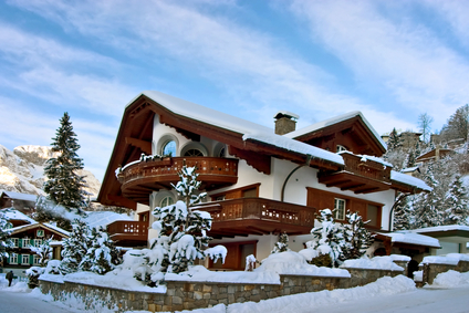 vacation winter House